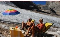 Attenti alle passeggiate sui ghiacciai! Rischio CONGIUNTIVITE!