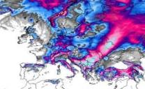 Centro di calcolo europeo: dieci giorni di neve che invadono l'Europa!