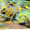 VORTICE CICLONICO IN PIENA AZIONE: TEMPORALI, TEMPESTE DI SABBIA E NEVE FINO A 400 M IN ADRIATICO, PRIMAVERA PERTURBATA, MA A PASQUA MIGLIORA