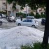 Maltempo in Puglia, con forte grandinata