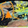 Irruzione artica alle porte delle Alpi: temporali e grandinate seguiti da forte diminuzione della temperatura……….