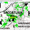 Forte peggioramento a partire da Domenica, piogge intense al nordovest tra martedì e mercoledì
