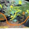 Nucleo freddo in entrata nel Mediterraneo, temporali a ripetizione da nord a sud