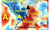 Periodo caldo in arrivo ai primi di Luglio, ma l'instabilità ritornerà soprattutto al centronord