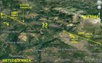 Linee evolutive della sequenza sismica dell'Appennino centrale, confronto con i precedenti terremoti