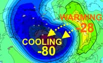 Vortice polare sempre piu' debole, nuovi impulsi perturbati in arrivo nel Mediterraneo