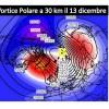 Ondata di freddo artico sull'Italia in due tempi