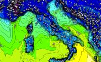 Le News serali: Maltempo su parte del Centro, al Sud e Isole Maggiori