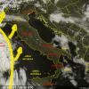 Previsioni Meteo: attenzione al fronte che risale da Sud/Ovest, poi domani violenti temporali al Nord