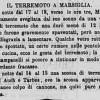 Scossa di Terremoto del 17-18 Gennaio 1870 a Marsiglia