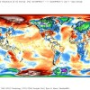 Temperature sotto la media in Europa e Nord America