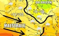 Previsioni 03/09/17. Ulteriore calo termico con instabilità diffusa su tutte le regioni centro-meridionali. I dettagli