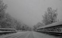 Abbondante nevicata a Chiomonte