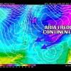E' in arrivo aria moderatamente fredda continentale in questi prossimi tre giorni.