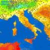 Temperature estive sulla Sicilia.