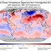 Rapporto sul clima del pianeta: il marzo 2018 è stato il quinto più caldo dal 1880
