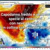 Capodanno 2019 con freddo, vento e neve in collina sul medio Adriatico e sulle regioni meridionali.