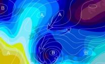 """Allerta Meteo, """"Ciclone Polare"""" in formazione nel Tirreno: mappe mostruose per il Sud, sarà una """"Bomba"""" di maltempo e neve"""