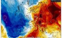 Nei primi due giorni di Febbraio scaldata sulle regioni centrali e meridionali e neve su Alpi, Piemonte ed ovest Lombardia.
