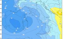 Nuvolosità in aumento da lunedì pomeriggio