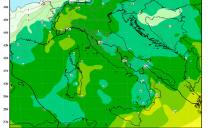 Peggioramento da domenica maltempo con decisa diminuzione delle temperature