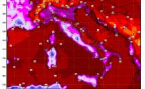 Caldo ESTREMO E STORICO al nord, con tanta umidità: superati i 40°C dal Piemonte all'Emilia, 44°C in Alto Adige!