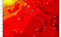Ancora caldo nelle prossime ore