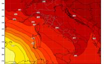 Caldo Record e Tempesta di Sabbia in Piemonte con punte di 27 gradi in provincia di Torino