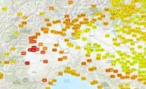 3 Febbraio 2020, giornata storica in Piemonte e Valle d'Aosta per il caldo