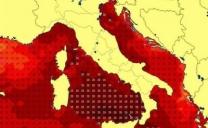 Temperature bollenti dei mari intorno al l'Italia 🔥