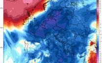 In Europa dalla tempesta KLAUS 🌬️al freddo artico ❄️