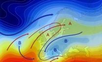 12 aprile 2021…poche azzorre e poco atlantico…