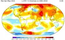 Primavera Meteorologica 2021 nel Mondo: Fresca o no?