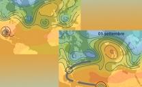 """29 agosto 2021…l'uragano """"Ida"""" in azione…"""