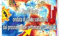 NUOVA FASE MOLTO CALDA IN ARRIVO SULL'ITALIA