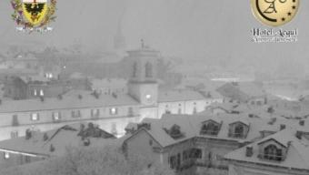 Nevicata del 21 Gennaio 2015 ad Arquata Scrivia in provincia di Alessandria