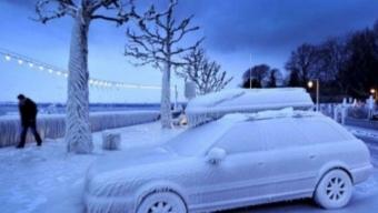 Gelo Siberiano sul Mar Nero….