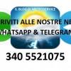 Il blog di Meteoservice sbarca su Whatsapp & Telegram: Iscrivetevi!