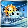 Previsioni Italia a 6 giorni sempre aggiornate