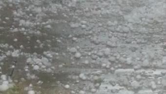 Azzate (Varese) 14 Giugno 2015, Grandinata Paurosa