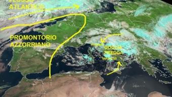 Instabile al centrosud, temporali intensi su Puglia e Basilicata