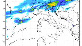 Maltempo sul Nord Est almeno fino a Venerdì con Clima Molto Fresco specie Fra Domani e Venerdì