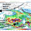 Forte maltempo a metà settimana, dai nubifragi al sud, alla neve in Appennino, ancora mille soluzioni per una evoluzione univoca
