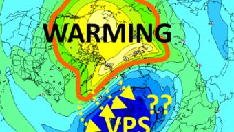 Warming destrutturante in stratosfera, ma le conseguenze sono ancora incerte ai piani isobarici inferiori