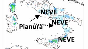 Istruzioni per l'uso per la neve a Roma e Napoli; ecco come potrebbe andare………..