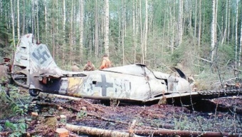 1989: Trovato un Aereo Nazista precipitato fuori San Pietroburgo