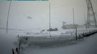 Nevica sulle Alpi, ecco alcune immagini