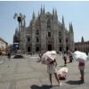 Prima decade di Luglio, la terza piu calda di sempre a Milano, superiore anche alla media già alta di suo 1981-2010