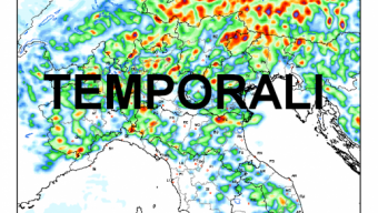 Nuovi temporali mercoledì al nord, a seguire ecco i tre step del maltempo in Agosto