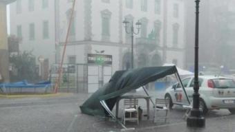 Vento e pioggia, riecco i temporali a Bergamo